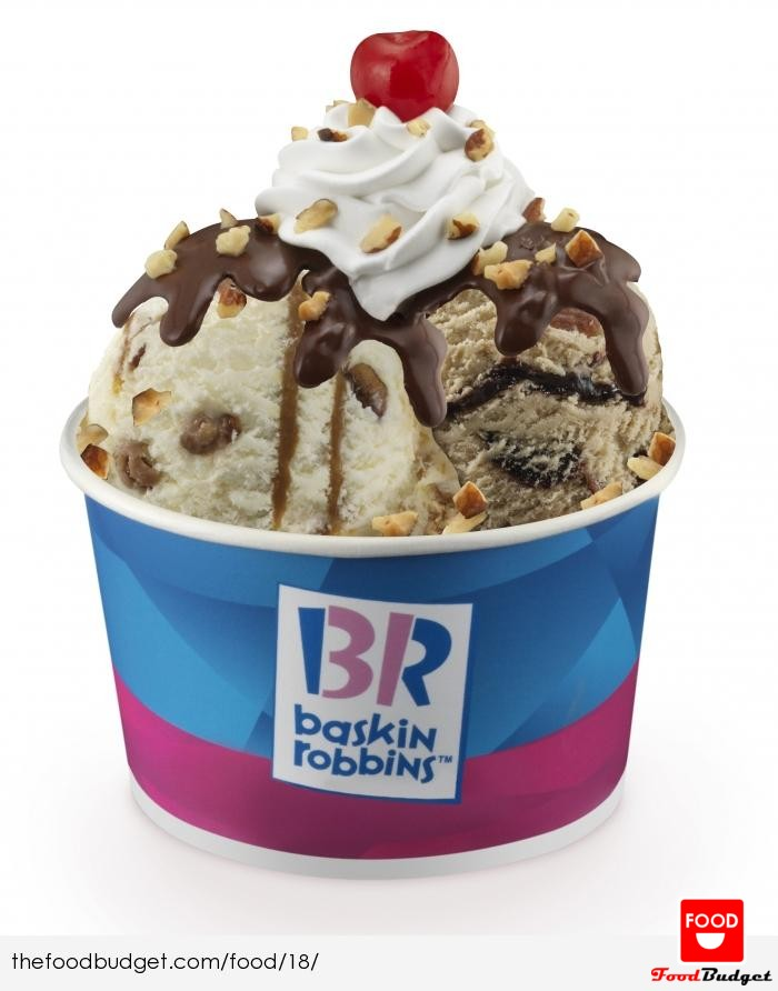 Baskin Robin Ice-cream