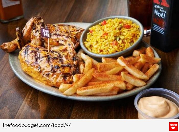 Nandos Meal Set